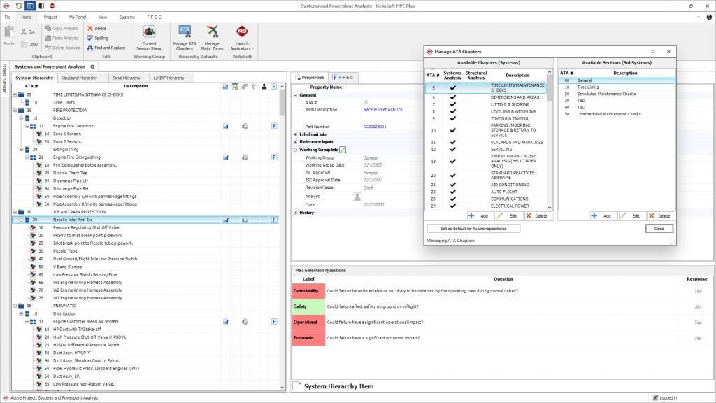 Reliasoft MPC ekran görünümü